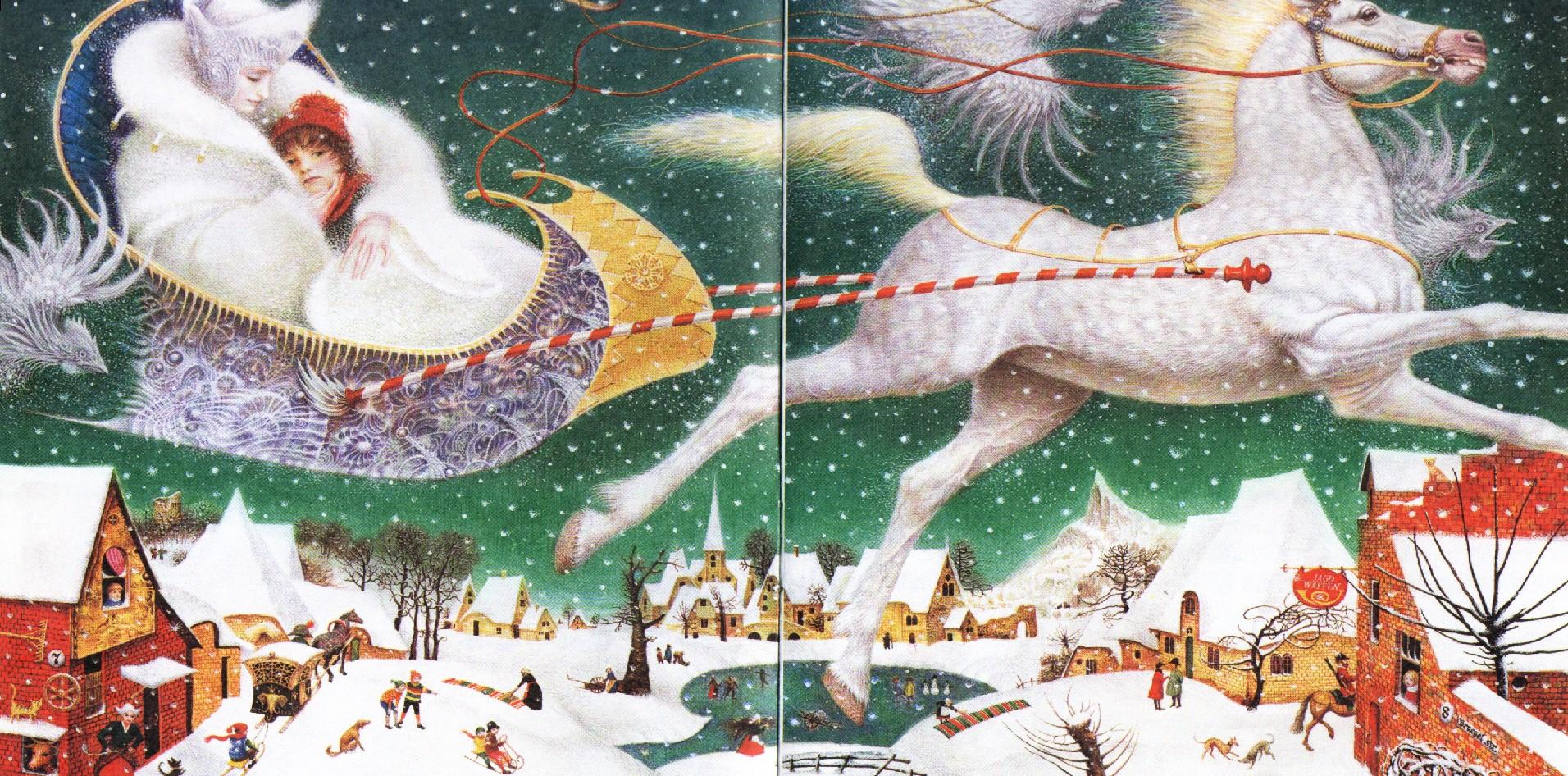 Книга снежная королева с картинками скачать